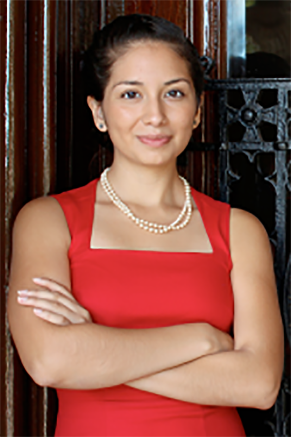 Portrait of Citlalli Alvarez (C '15)